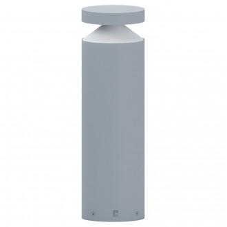 EGLO 97631 | Melzo Eglo stojaté svietidlo 45cm 1x LED 950lm 3000K IP44 strieborný, priesvitná, biela