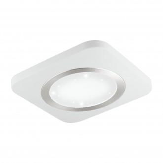 EGLO 97658 | Puyo-S Eglo stenové, stropné svietidlo 1x LED 1700lm 3000K biela, kryštálový efekt