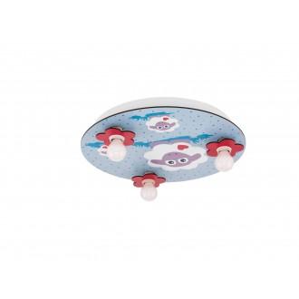 EGLO 97705 | Lalelu Eglo stropné svietidlo 3x E14 biela, farebné