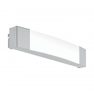 EGLO 97718 | Siderno Eglo osvetleni zrkadla svietidlo 1x LED 900lm 4000K IP44 chróm, saténový