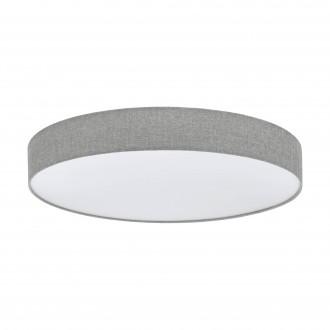 EGLO 97784   Romao Eglo stropné svietidlo diaľkový ovládač regulovateľná intenzita svetla, nastaviteľná farebná teplota 1x LED 5800lm 3000 <-> 5000K biela, sivé
