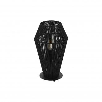 EGLO 97796 | Palmones Eglo stolové svietidlo 35,5cm prepínač na vedení 1x E27 čierna