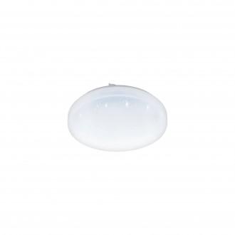 EGLO 97877 | Frania-S Eglo stenové, stropné svietidlo kruhový 1x LED 1350lm 3000K biela, kryštálový efekt