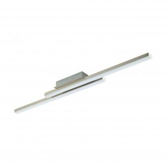 EGLO 97906 | EGLO-Connect-Fraioli Eglo stropné múdre osvetlenie regulovateľná intenzita svetla, nastaviteľná farebná teplota, meniace farbu 2x LED 4600lm 2700 <-> 6500K matný nikel, biela
