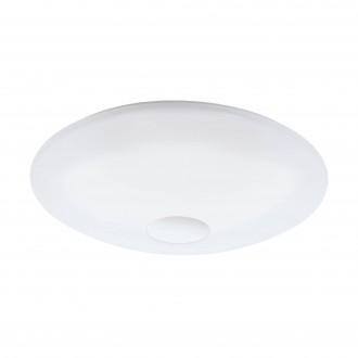 EGLO 97918 | EGLO-Connect-Totari Eglo stropné múdre osvetlenie diaľkový ovládač regulovateľná intenzita svetla, nastaviteľná farebná teplota, meniace farbu 1x LED 5400lm 2700 <-> 6500K biela, chróm