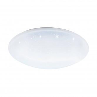 EGLO 97922 | EGLO-Connect-Totari Eglo stropné múdre osvetlenie diaľkový ovládač regulovateľná intenzita svetla, nastaviteľná farebná teplota, meniace farbu 1x LED 5400lm 2700 <-> 6500K biela, kryštálový efekt