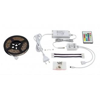 EGLO 97927 | Led-Stripes-Flex Eglo LED pásy svietidlo zásuvkové zospodu 1x LED 600lm RGBK priesvitné