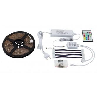 EGLO 97928 | Led-Stripes-Flex Eglo LED pásy svietidlo zásuvkové zospodu 1x LED 1000lm RGBK priesvitné
