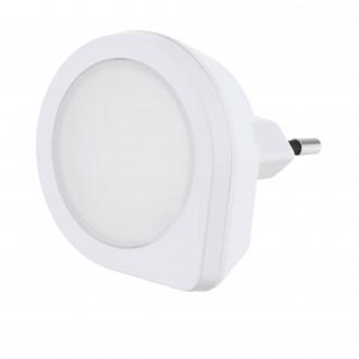 EGLO 97932 | Tineo Eglo smerové svetlo svietidlo svetelný senzor - súmrakový spínač konektorové svietidlo 1x LED 2lm 3000K biela