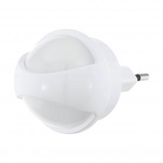 EGLO 97933 | Tineo Eglo smerové svetlo svietidlo svetelný senzor - súmrakový spínač konektorové svietidlo 1x LED 3lm 3000K biela