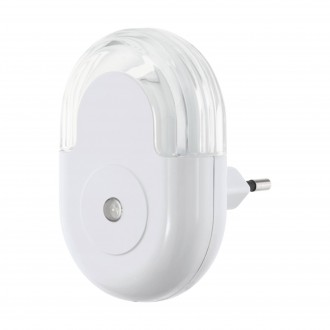 EGLO 97935 | Tineo Eglo smerové svetlo svietidlo svetelný senzor - súmrakový spínač konektorové svietidlo 1x LED 5lm 3000K biela