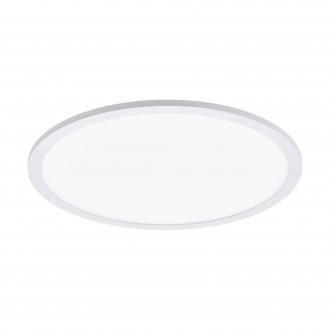 EGLO 97959 | EGLO-Connect-Sarsina Eglo stropné múdre osvetlenie diaľkový ovládač regulovateľná intenzita svetla, nastaviteľná farebná teplota, meniace farbu 1x LED 2900lm 2700 <-> 6500K biela