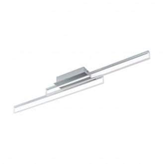 EGLO 97965 | Palmital Eglo stenové, stropné svietidlo 2x LED 2600lm 3000K IP44 chróm, priesvitná