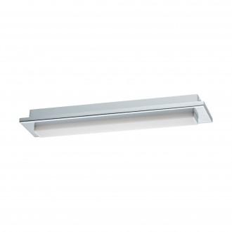 EGLO 97967 | Cumbrecita Eglo stenové, stropné svietidlo tehla 1x LED 900lm 4000K IP44 chróm, biela