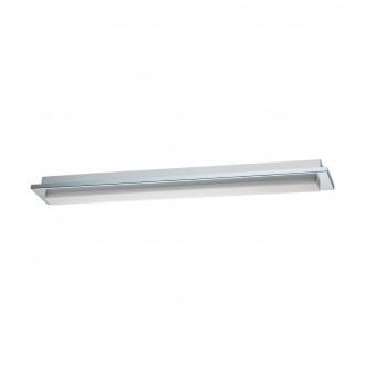 EGLO 97968 | Cumbrecita Eglo stenové, stropné svietidlo tehla 1x LED 1700lm 4000K IP44 chróm, biela