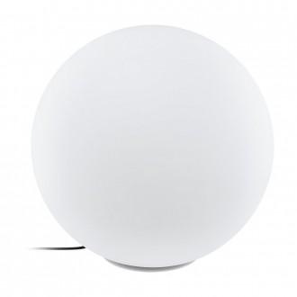 EGLO 98108 | EGLO-Connect-Monterolo Eglo dekor múdre osvetlenie guľa regulovateľná intenzita svetla, nastaviteľná farebná teplota, meniace farbu, vybavené vedením a zástrčkou 1x E27 806lm 2700 <-> 6500K IP65 biela