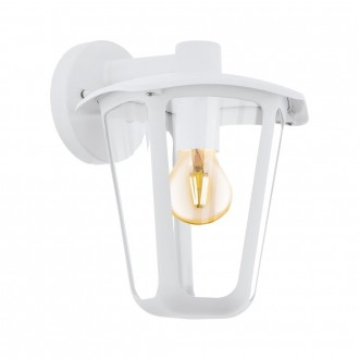 EGLO 98116   Monreale Eglo stenové svietidlo 1x E27 IP44 biela, priesvitné