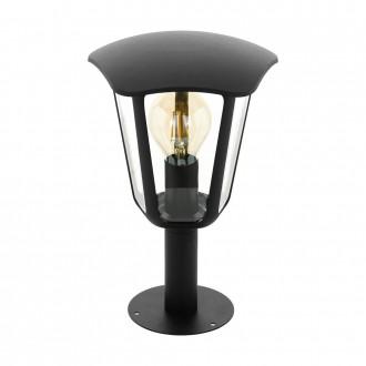 EGLO 98122   Monreale Eglo stojaté svietidlo 33,5cm 1x E27 IP44 čierna, priesvitné