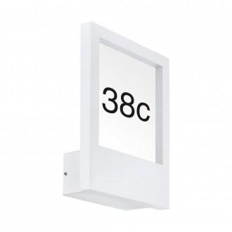 EGLO 98143 | Monteros Eglo stenové svietidlo 1x E27 IP44 biela