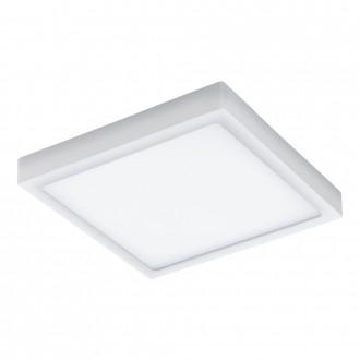 EGLO 98172 | EGLO-Connect-Argolis Eglo stenové, stropné múdre osvetlenie štvorec regulovateľná intenzita svetla, nastaviteľná farebná teplota 1x LED 2600lm 2700 <-> 6500K IP44 biela