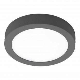 EGLO 98173 | EGLO-Connect-Argolis Eglo stenové, stropné múdre osvetlenie kruhový regulovateľná intenzita svetla, nastaviteľná farebná teplota 1x LED 1600lm 2700 <-> 6500K IP44 antracit, biela