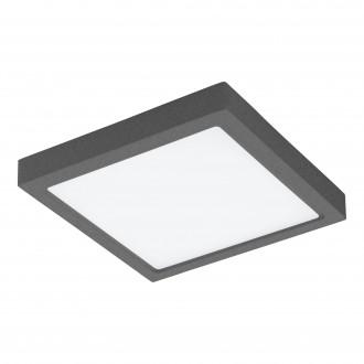 EGLO 98174 | EGLO-Connect-Argolis Eglo stenové, stropné múdre osvetlenie štvorec regulovateľná intenzita svetla, nastaviteľná farebná teplota 1x LED 2600lm 2700 <-> 6500K IP44 antracit, biela
