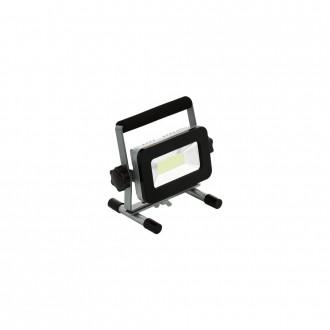 EGLO 98183 | Piera Eglo svetlomet svietidlo 1x LED 1700lm 6000K IP44 strieborný, čierna, priesvitné
