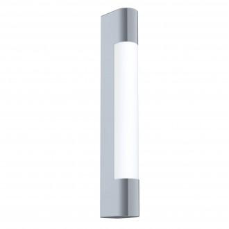 EGLO 98442 | Tragacete Eglo stenové svietidlo tehla 1x LED 770lm 4000K IP44 chróm, biela