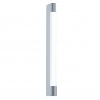 EGLO 98443 | Tragacete Eglo stenové svietidlo tehla 1x LED 1500lm 4000K IP44 chróm, biela