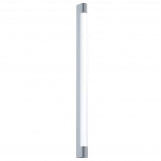 EGLO 98444 | Tragacete Eglo stenové svietidlo tehla 1x LED 2270lm 4000K IP44 chróm, biela