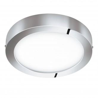 EGLO 98559 | EGLO-Connect-Fueva Eglo stenové, stropné múdre osvetlenie kruhový regulovateľná intenzita svetla, nastaviteľná farebná teplota, meniace farbu, na diaľkové ovládanie 1x LED 2800lm 2700 <-> 6500K IP44 chróm, biela