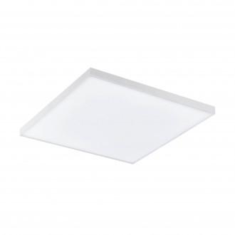 EGLO 98562 | EGLO-Connect-Turcona Eglo stropné múdre osvetlenie kruhový diaľkový ovládač regulovateľná intenzita svetla, nastaviteľná farebná teplota, meniace farbu 1x LED 1800lm 2700 <-> 6500K biela