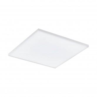 EGLO 98563 | EGLO-Connect-Turcona Eglo stropné múdre osvetlenie štvorec diaľkový ovládač regulovateľná intenzita svetla, nastaviteľná farebná teplota, meniace farbu 1x LED 2950lm 2700 <-> 6500K biela
