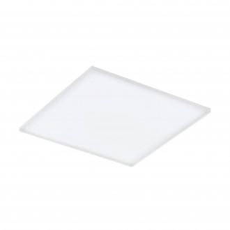EGLO 98564 | EGLO-Connect-Turcona Eglo stropné múdre osvetlenie štvorec diaľkový ovládač regulovateľná intenzita svetla, nastaviteľná farebná teplota, meniace farbu 1x LED 4300lm 2700 <-> 6500K biela