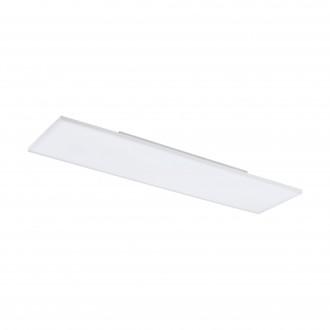 EGLO 98565 | EGLO-Connect-Turcona Eglo stropné múdre osvetlenie obdĺžnik diaľkový ovládač regulovateľná intenzita svetla, nastaviteľná farebná teplota, meniace farbu 1x LED 3300lm 2700 <-> 6500K biela