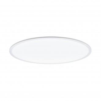 EGLO 98566 | EGLO-Connect-Sarsina Eglo stropné múdre osvetlenie kruhový diaľkový ovládač regulovateľná intenzita svetla, nastaviteľná farebná teplota, meniace farbu 1x LED 5500lm 2700 <-> 6500K biela