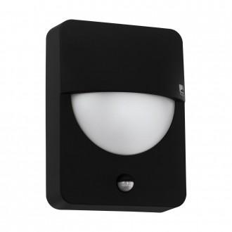 EGLO 98705   Salvanesco Eglo stenové svietidlo pohybový senzor 1x LED IP44 čierna, biela