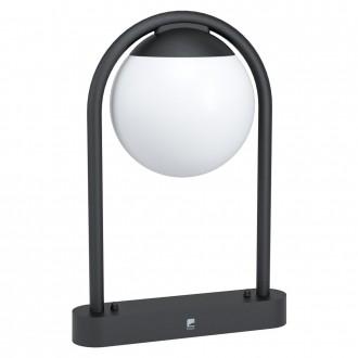 EGLO 98732   Prata-Vecchia Eglo stojaté svietidlo 45cm 1x E27 IP44 čierna, biela