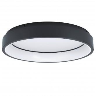 EGLO 99026   EGLO-Connect-Marghera Eglo stropné múdre osvetlenie kruhový regulovateľná intenzita svetla, nastaviteľná farebná teplota, meniace farbu, na diaľkové ovládanie 1x LED 3200lm 2700 <-> 6500K čierna, biela