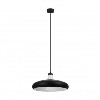 EGLO 99032 | EGLO-Connect-Tabanera Eglo visiace múdre osvetlenie regulovateľná intenzita svetla, nastaviteľná farebná teplota, meniace farbu, na diaľkové ovládanie 1x E27 806lm 2700 <-> 6500K čierna, biela