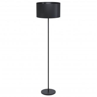 EGLO 99046   Eglo-Maserlo-B Eglo stojaté svietidlo 51,5cm nožný vypínač 1x E27 čierna