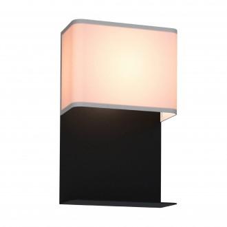 EGLO 99069 | Galdakao Eglo stenové svietidlo prepínač 1x LED 410lm 3000K čierna, biela