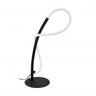EGLO 99383   Egidonella Eglo stolové svietidlo 38cm prepínač na vedení 1x LED 700lm 3000K čierna, biela