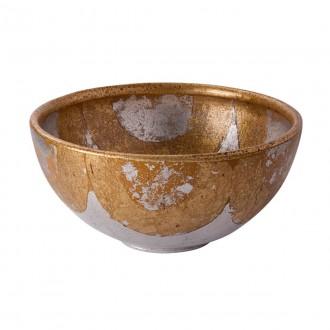 ELSTEAD FB/BELCHASE BOWL | Elstead doplnky miska ručne maľované starožitná zlata, starožitná zlata