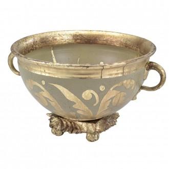 ELSTEAD FB-ROCHEBLAVE-BOWL | Elstead doplnky miska ručne maľované starožitná zlata, opál