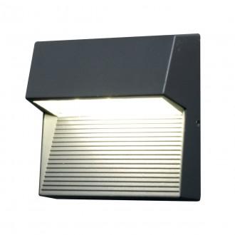 ELSTEAD FREYR-SQ | Freyr Elstead stenové svietidlo 1x LED 260lm IP54 grafit