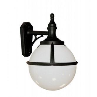 ELSTEAD GLENBEIGH-WALL | Glenbeigh Elstead rameno stenové svietidlo navrhnuté na pobrežie 1x E27 IP44 UV čierna, opál