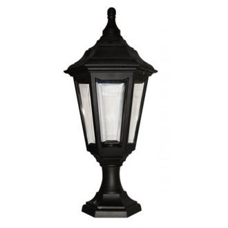 ELSTEAD KINSALE-PED-POR | Kinsale Elstead stojaté, stropné svietidlo navrhnuté na pobrežie 1x E27 IP44 UV čierna, priesvitné