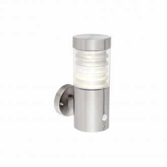 ENDON 72916 | Equnerez-EN Endon rameno stenové svietidlo svetelný senzor - súmrakový spínač pohybový senzor 1x LED 141lm 4000K IP44 leštený oceľ, priesvitné