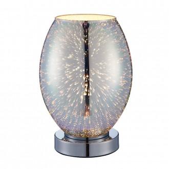 ENDON 74940   Stellar Endon stolové svietidlo 24cm dotykový vypínač 1x E14 chróm
